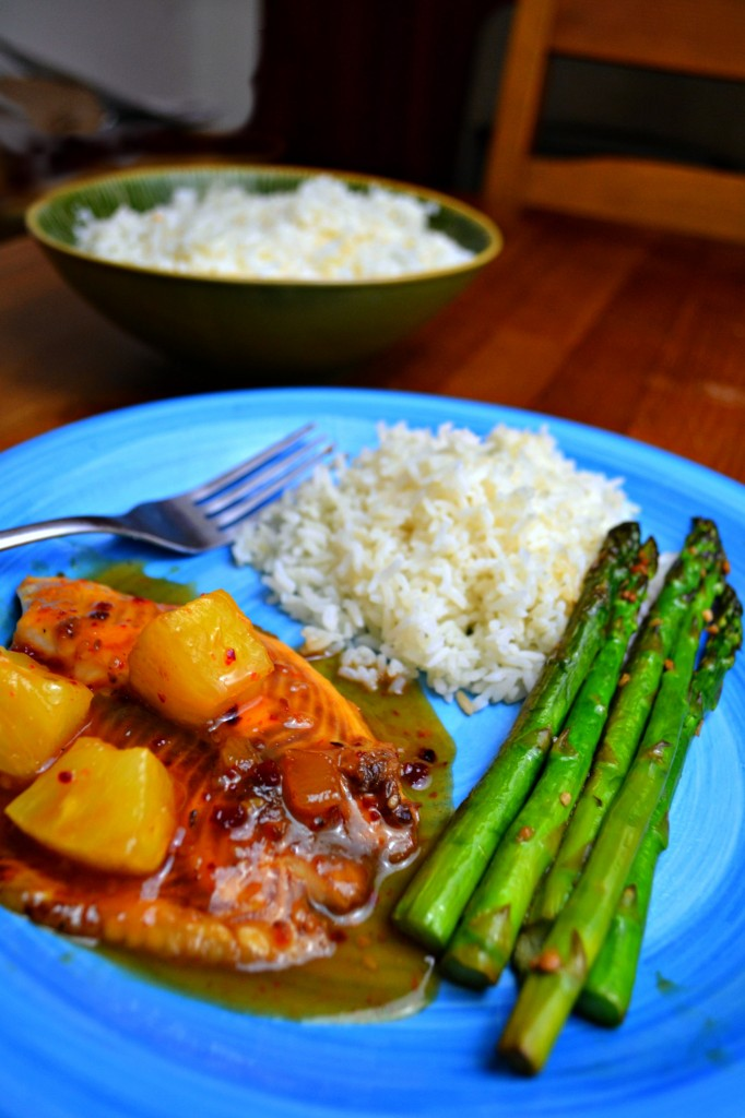 Sweet and Sour Tilapia | 4 Hats and Frugal #kraftrecipemakers #cbias