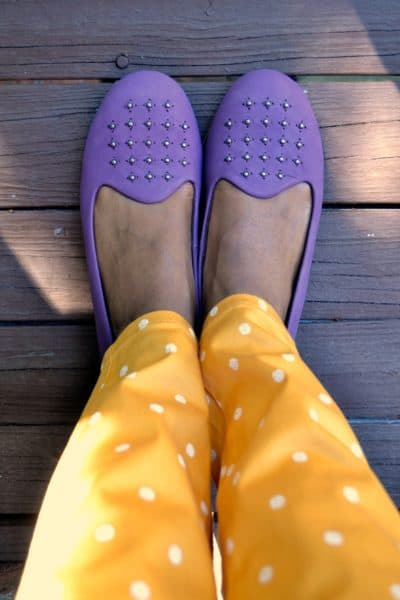 embellished flats for fall | 4 Hats and Frugal