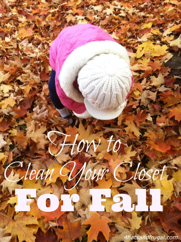 How to clean your closet for Fall - 4 simple tips