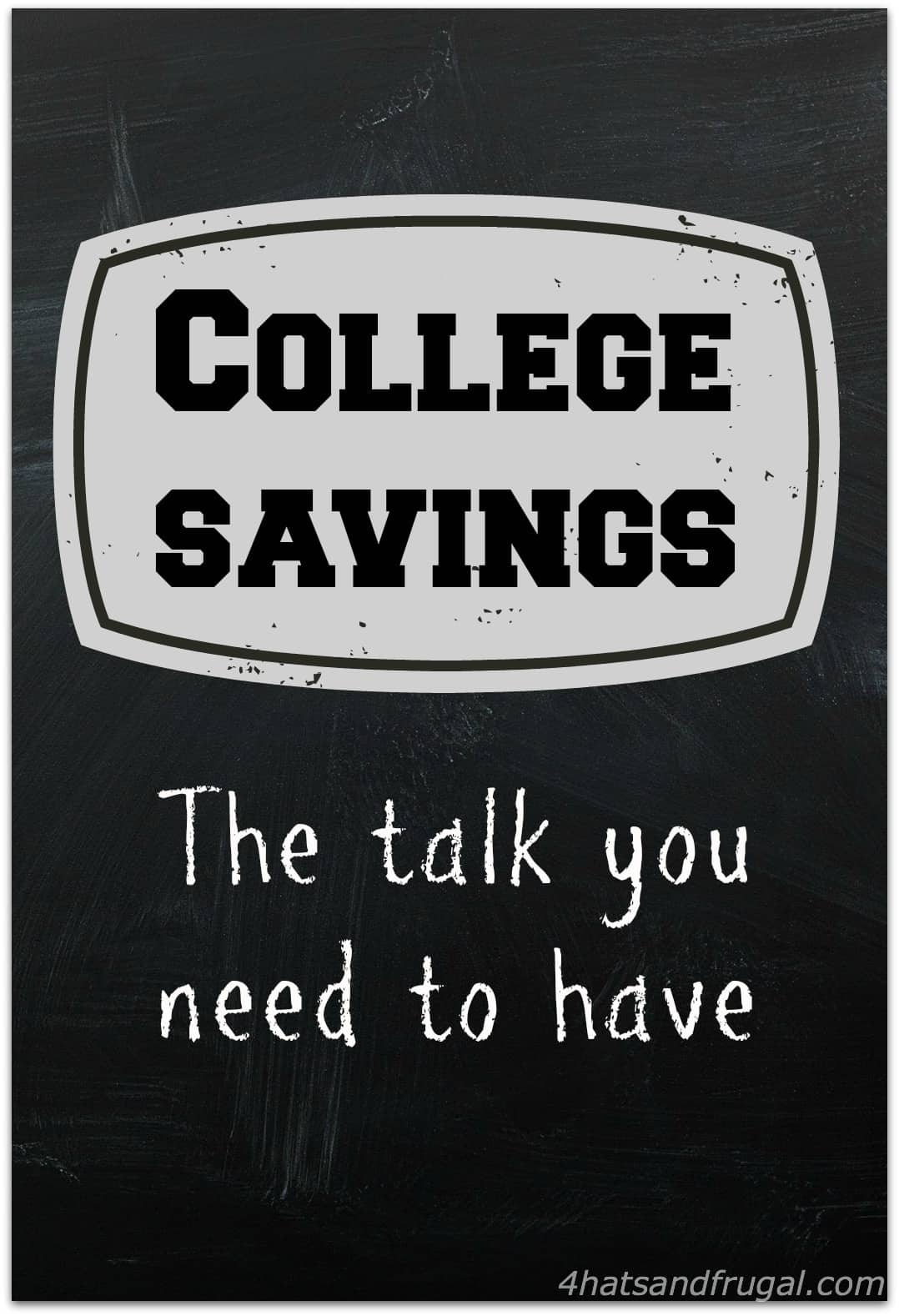 college savings - the talk you need to have