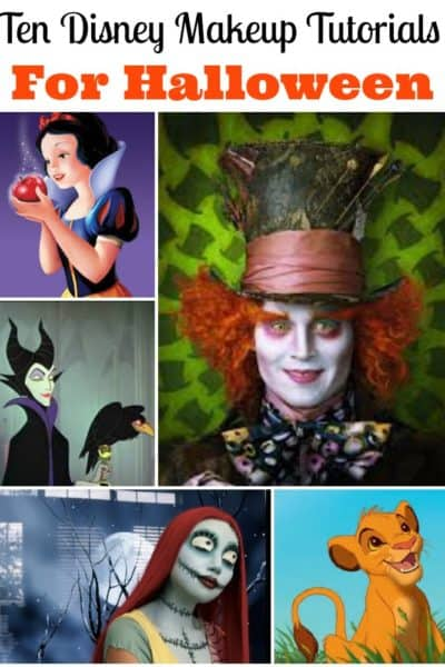 Disney makeup tutorials