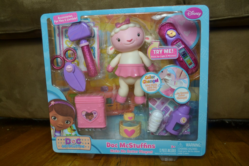 Doc McStuffins Make Me Better Playset