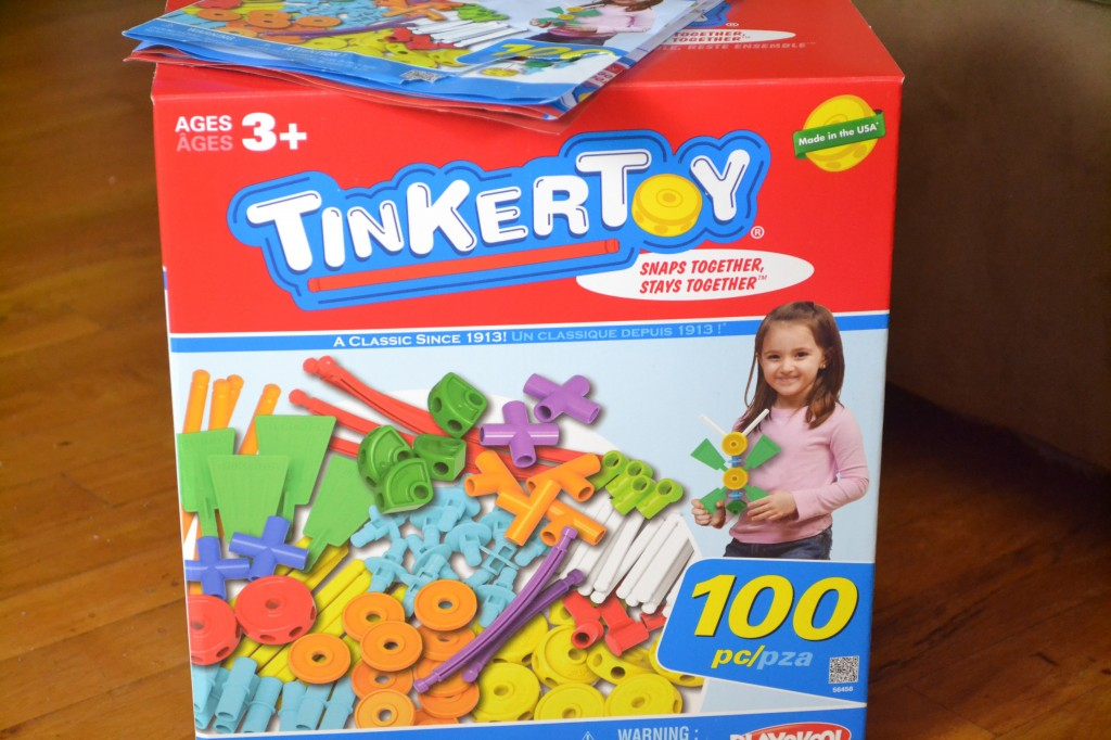 tinkertoy is the perfect gift for toddlers and under $20