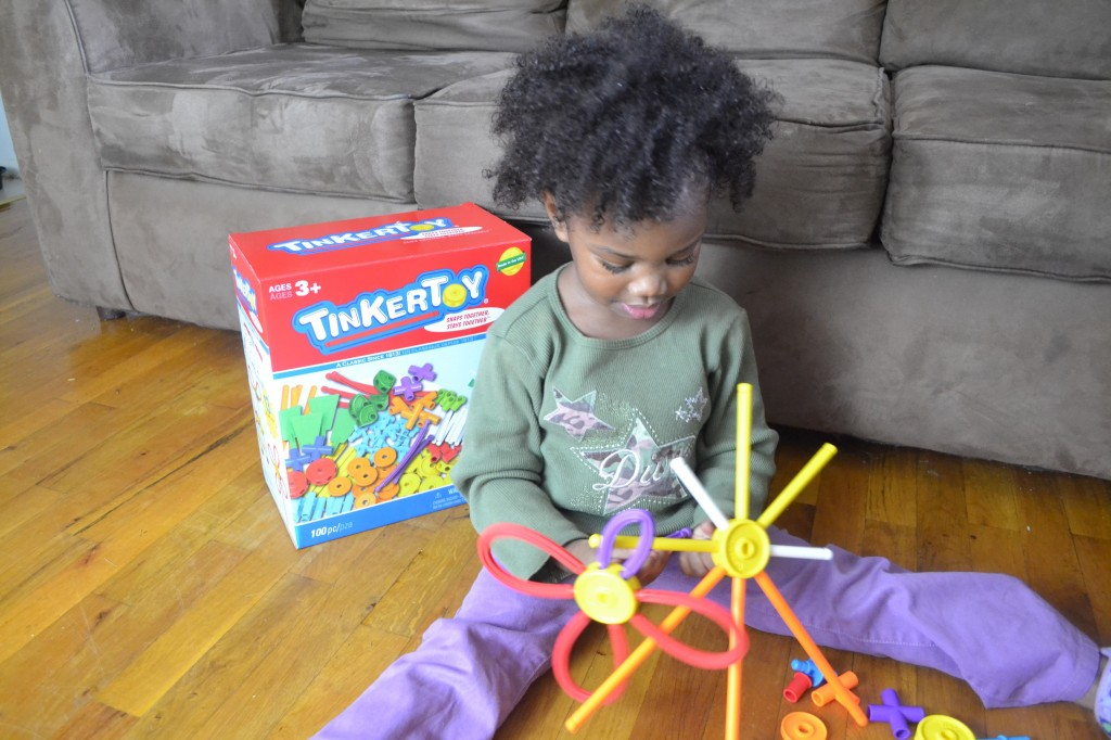 Tinkertoy is a perfect gift for toddlers, and under $20 #ToysFor20