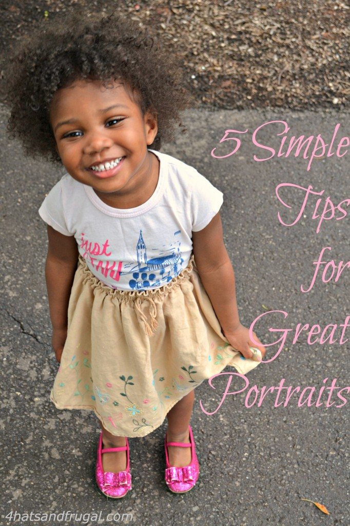 simple tips for great portraits