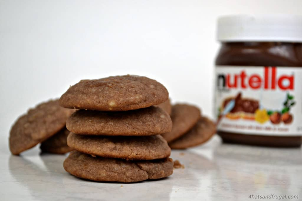Nutella ricotta cookies - soft, cake-like cookies that aren't too sweet but so delicious