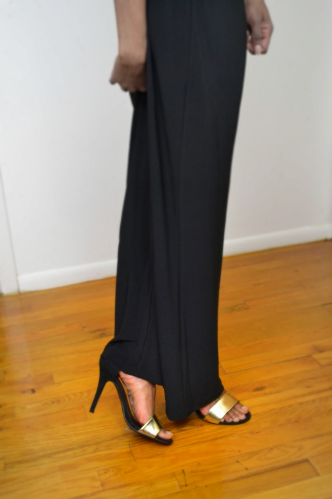 Wide leg trousers paired with strappy heels #ThisIsStyle #cbias #shop