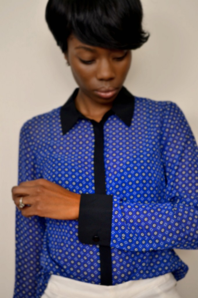 contrast collared shirt is perfect for winter and spring #ThisIsStyle #cbias #shop