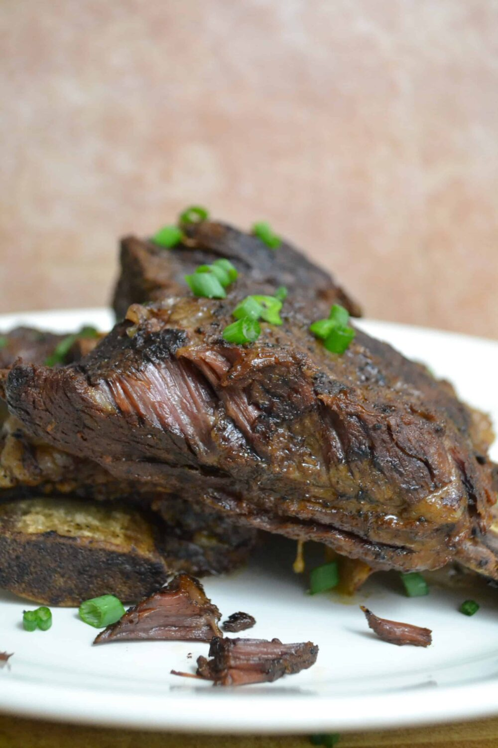 slow cooker sweet and spicy short ribs; low calorie recipe featured on Doctor Oz.