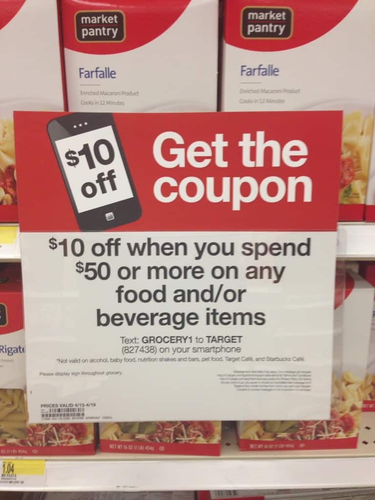 How to use a $64 grocery budget at Target
