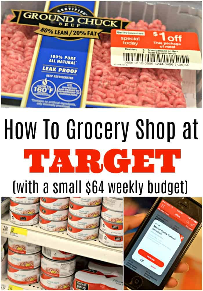 Want to know how to grocery shop at Target, and do it with a small grocery budget? Here are the best hacks to use now.