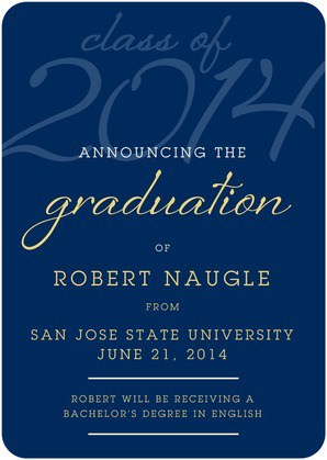 Tiny Prints deal for graduation announcements