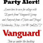 Vanguard Helps You Save for College #VGSave4College