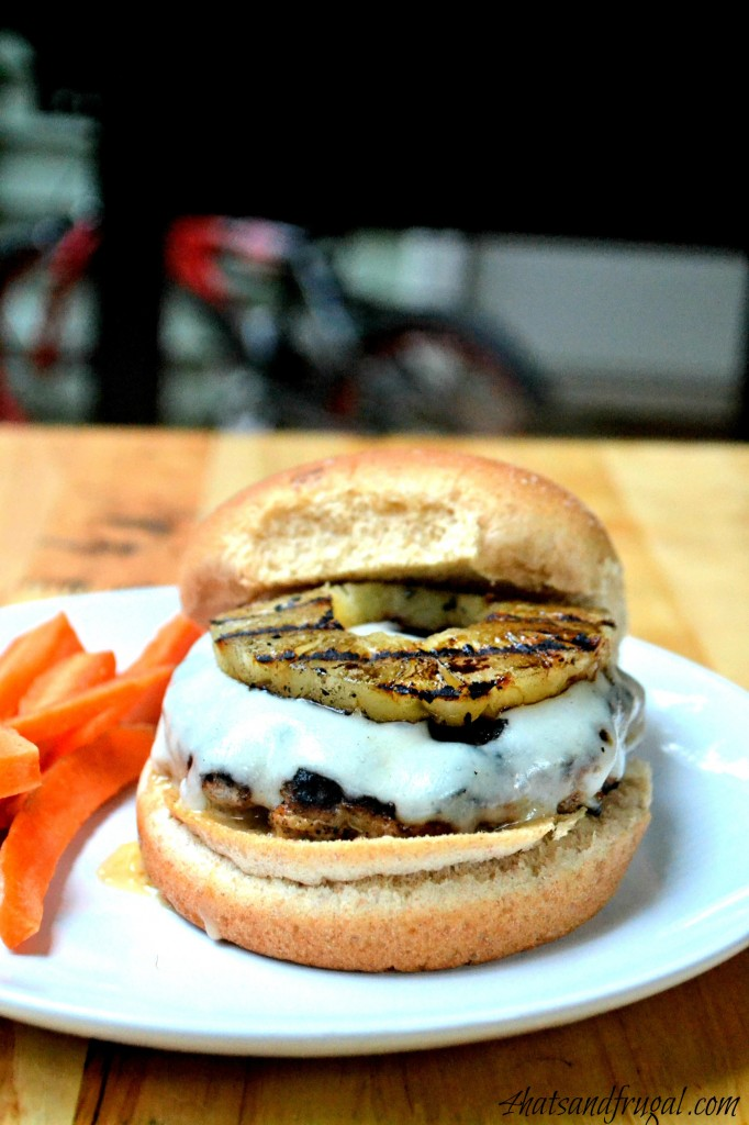A simple recipe for grilled pineapple turkey burgers that is moist and full of flavor.