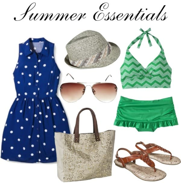 A great post about what to purchase for your style summer essentials. All items are $25 and under!