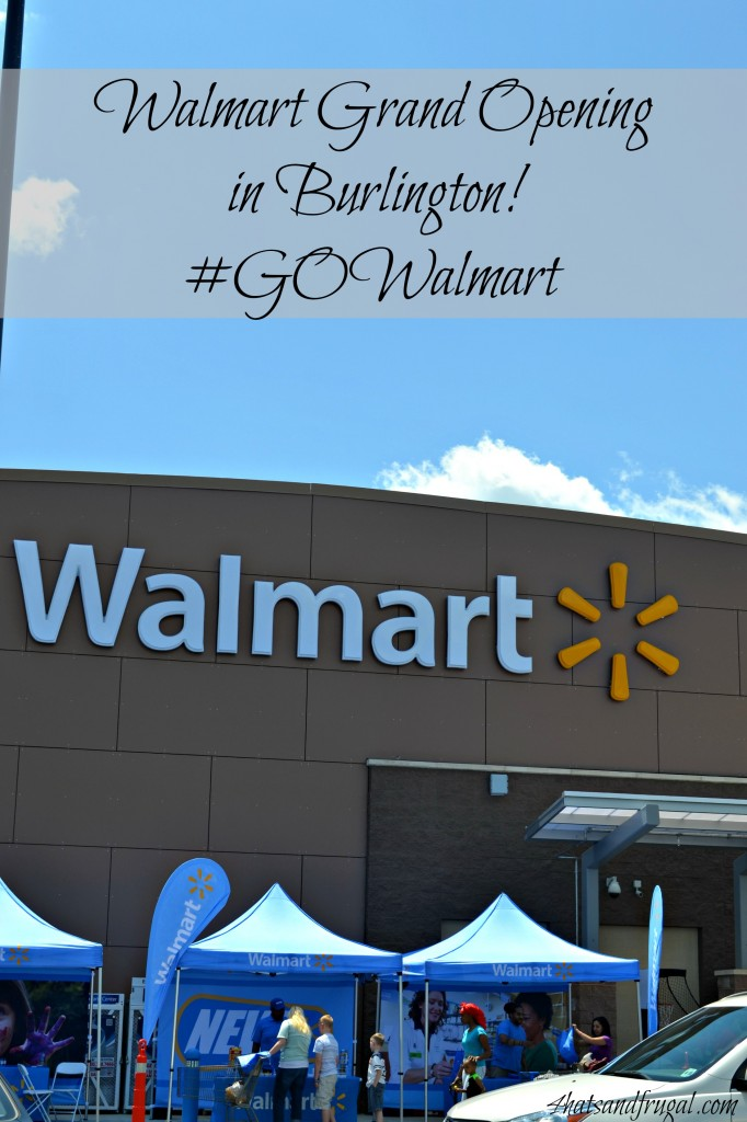 Walmart grand opening in Burlington, NJ. This new Walmart Supercenter will provide fresh groceries, new job opportunities and more!