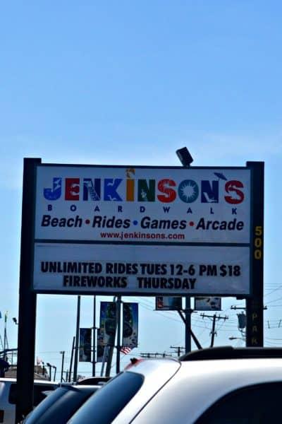 Jenkinson's Boardwalk in Pt. Pleasant NJ