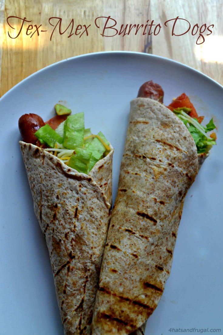 Tex-Mex Burrito Hot Dogs