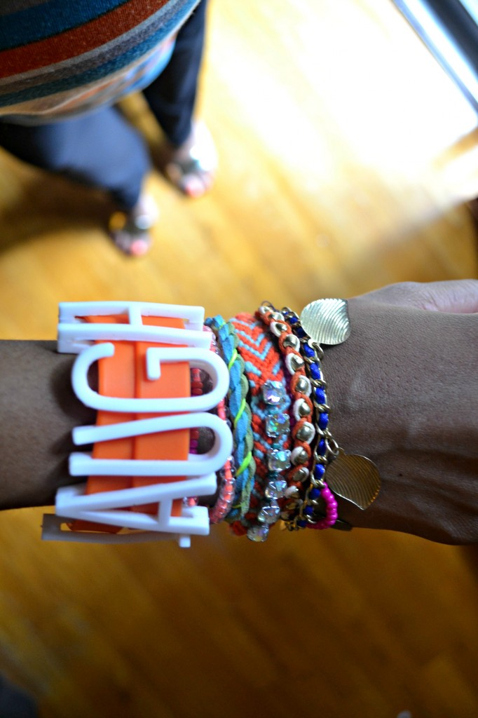 A review of iBandz, the new arm candy for kids and parents alike.
