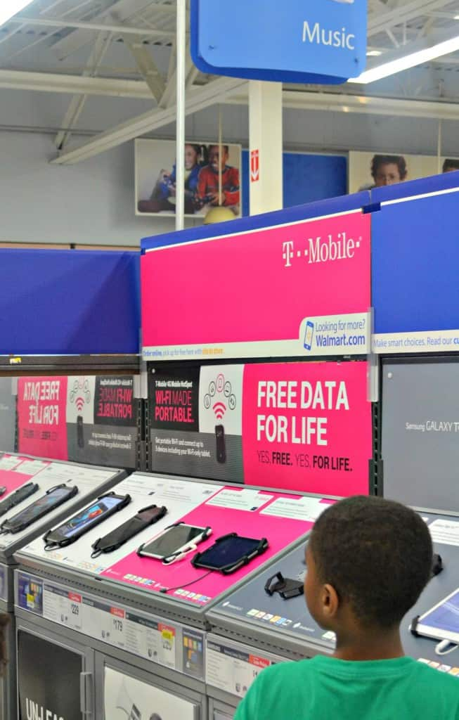 T-Mobile Free Data for Work at Home Moms on-the-go #TabletTrio #shop