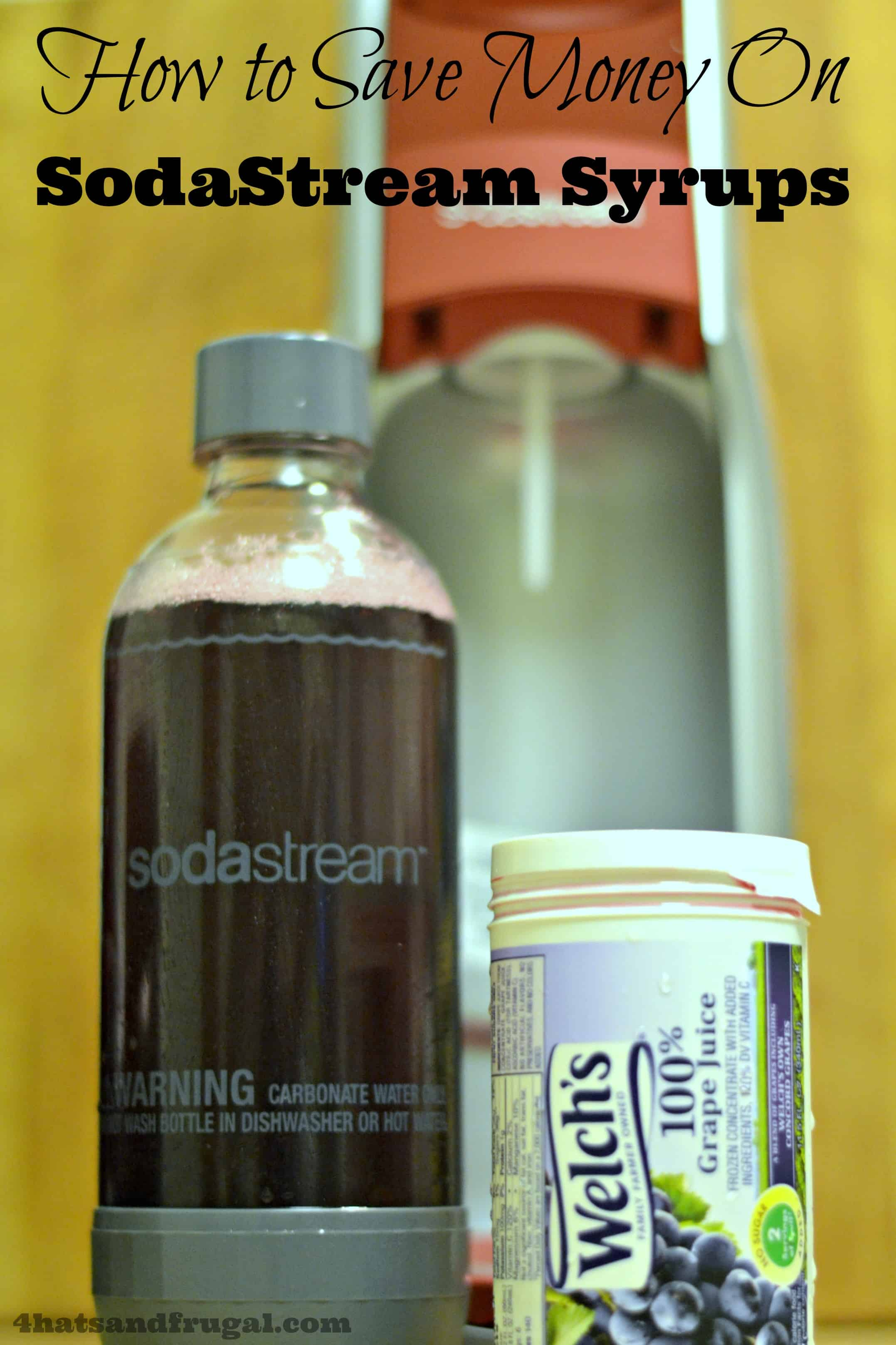 How to Save Money on SodaStream Syrups