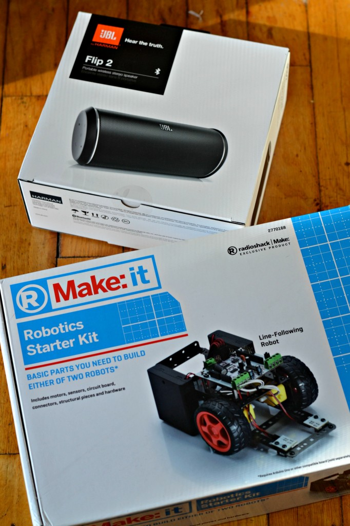 Father and son bonding is so great during the holidays when there are smart gifts involved. Check out what this father/son duo are putting together.