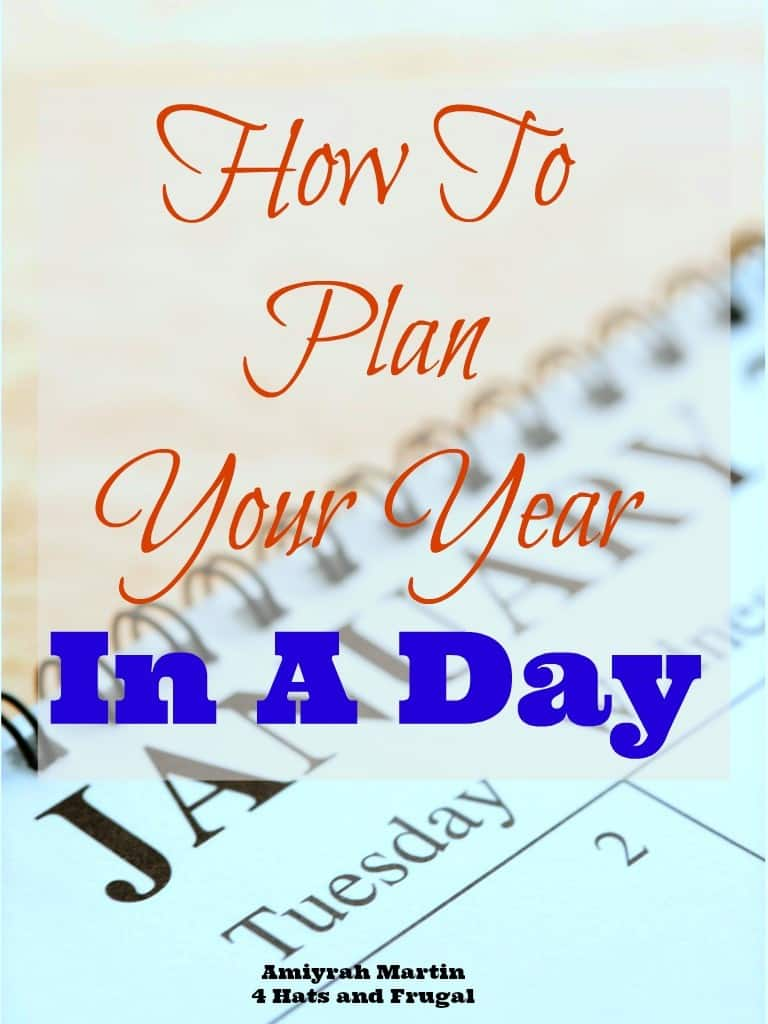 How to Plan Your Year In A Day new cover