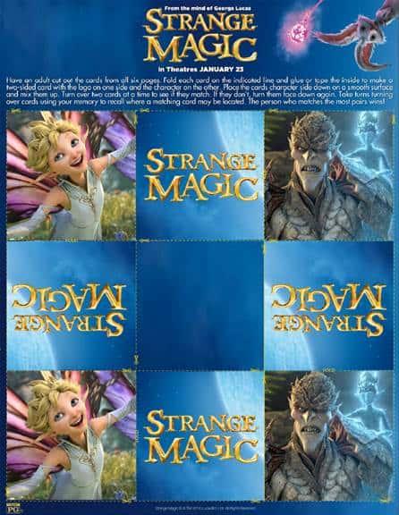 Strange Magic Match Game thumbnail