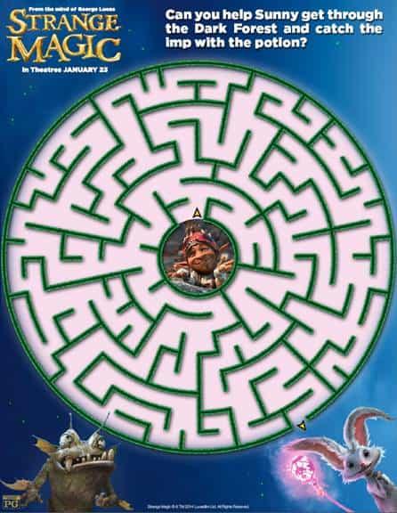 Strange Magic Maze thumbnail