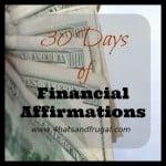 Deliver | 30 Days of Financial Affirmations