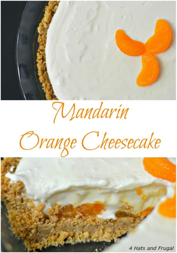 This mom shares her recipe for no-bake mandarin orange cheesecake, and it's perfect for any family gathering or a summer time treat!