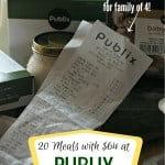 64 Dollar Grocery Budget – Publix Breakdown