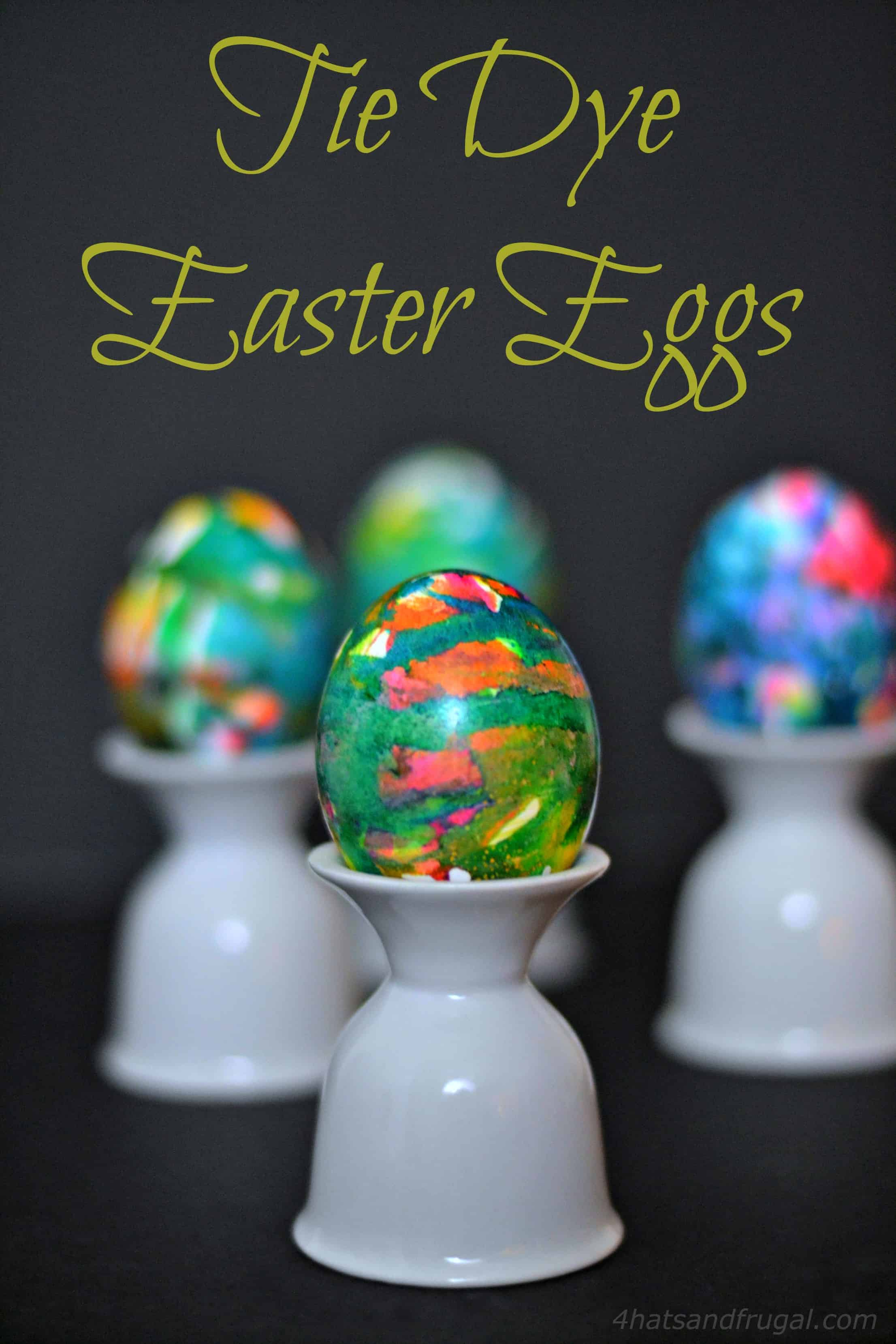 Looking for a fun, new way to dye your Easter eggs this year? These Tie Dye Easter Eggs are a great twist on the usual tradition.