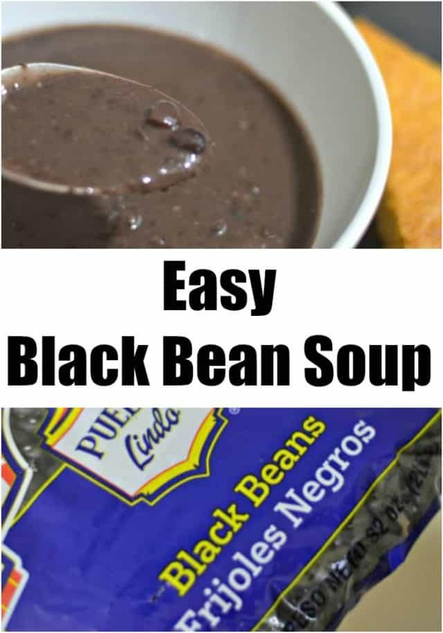 This easy black bean soup recipe is a delicious money saver, and hearty to boot! It's a wonderful option for an cheap weeknight meal in fall and winter.