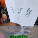 5 Ways to Teach Your Child About Money