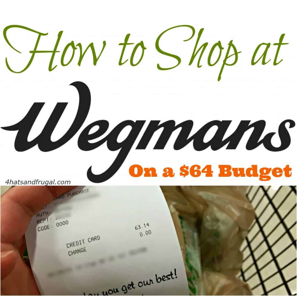 This mom shops Wegmans for he Paleo family on a $64 grocery budget. See how she did it!