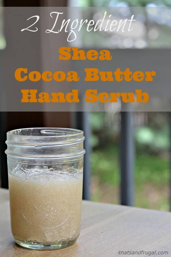 Shea Cocoa Butter Hand Scrub