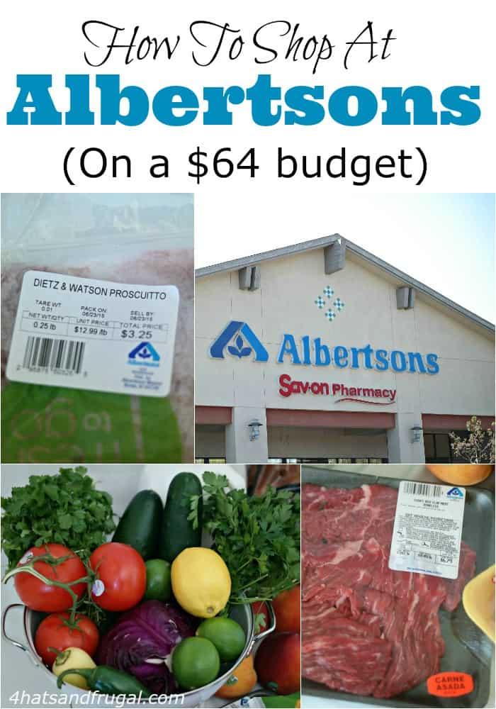 64 Dollar Grocery Budget - Albertsons hero