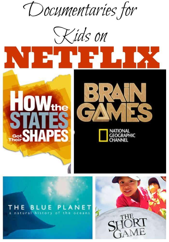 Documentaries for Kids on Netflix #StreamTeam