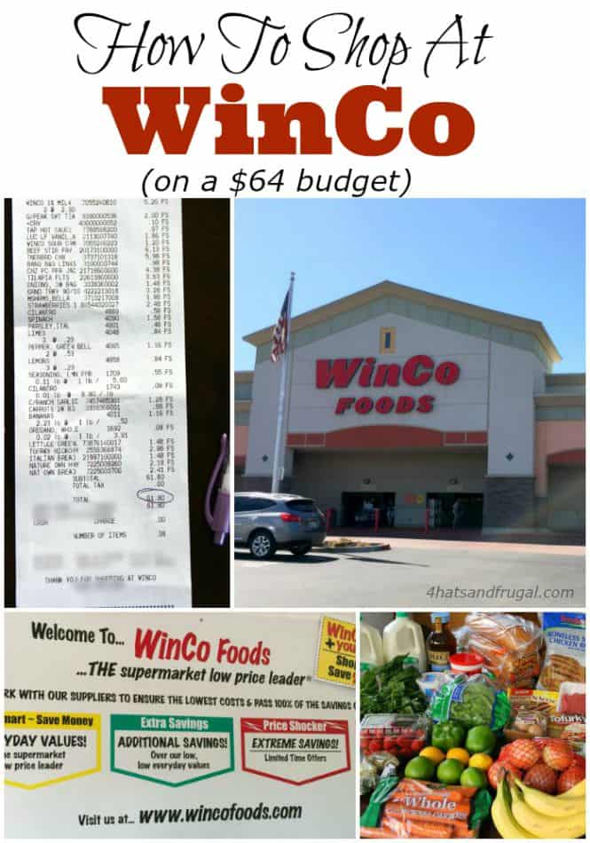 Are you a WinCo shopper? Check out how this mom of 4 did all of her grocery shopping at WinCo for only $64!