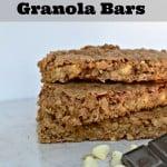 Double Chocolate Granola Bars