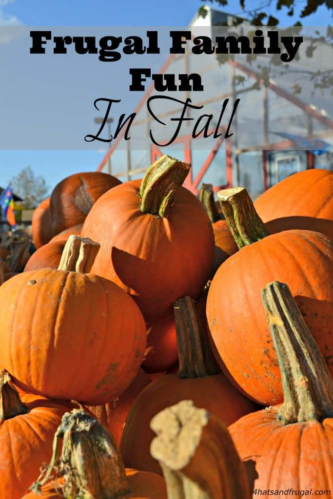 Looking to have frugal family fun in fall? Here are 4 great ideas for money-saving activities the whole family will love!