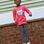 Mini Fashionista's Back-To-School Outfit