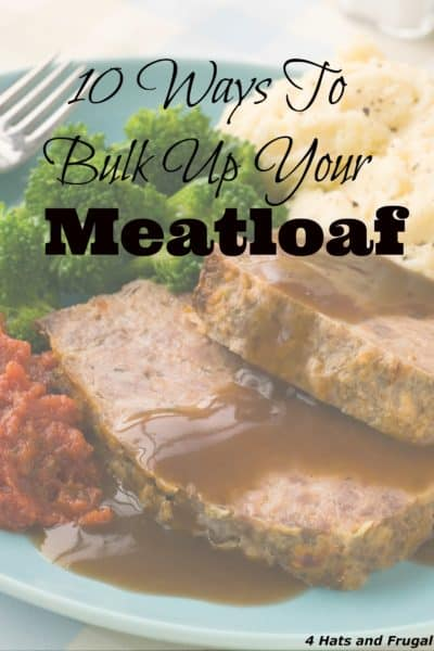 Need to find new ways to bulk up meatloaf? Here are 10 ideas that you may not have thought of.