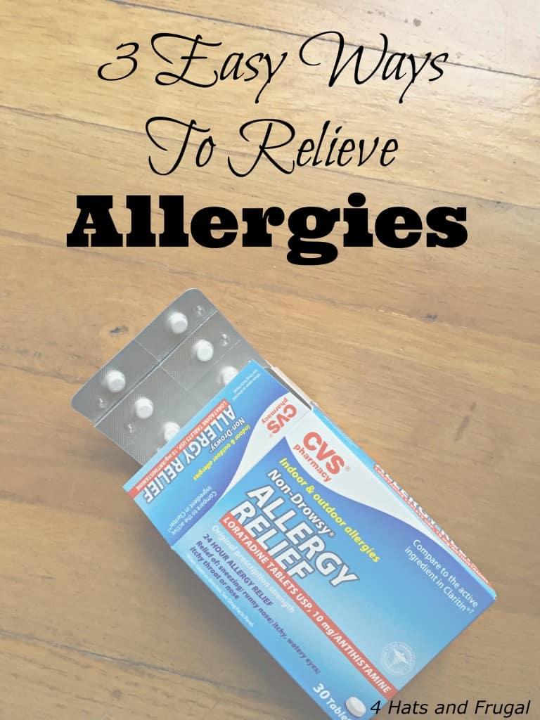 3 Easy Ways To Relieve Allergies Hero