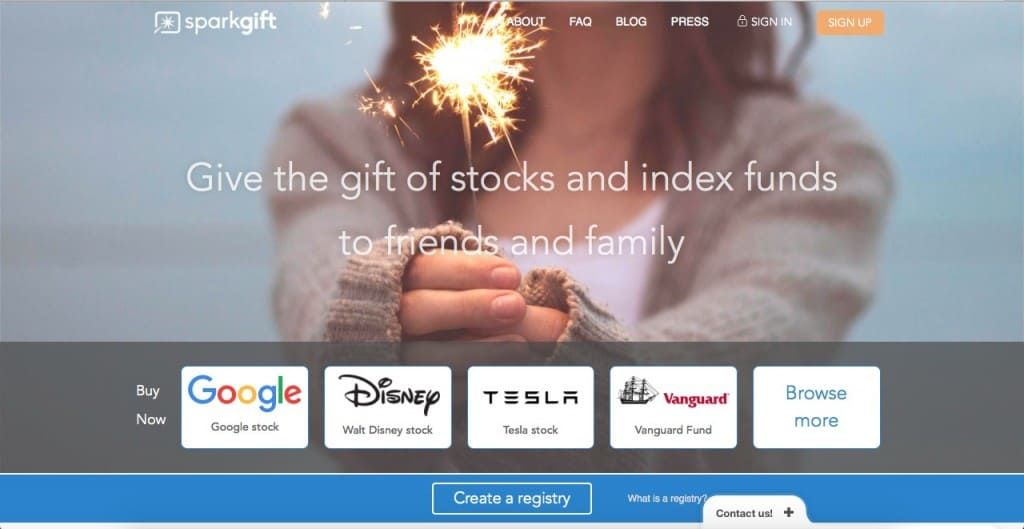 SparkGift Perfect Holiday Gift hero
