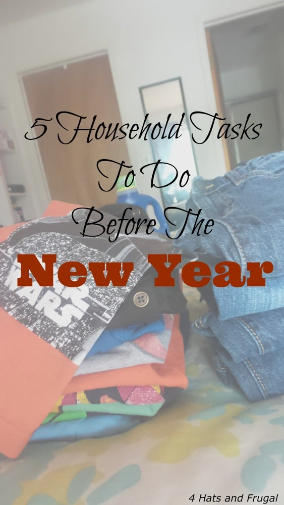 I never thought about doing these before the new year comes in! I love the idea of taking the trash out. Never realized that was a household task to do before the new year.
