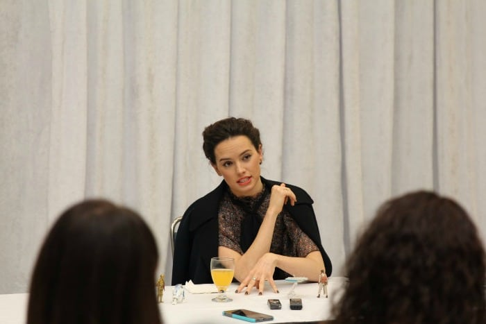 Daisy Ridley Exclusive Interview 2