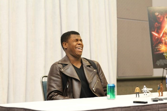 Exclusive Interview with John Boyega - STAR WARS: THE FORCE AWAKENS #StarWarsEvent