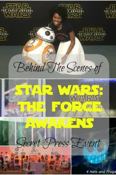 Check out behind the scenes of STAR WARS: The Force Awakens press event that was held in L.A. on December 6th!